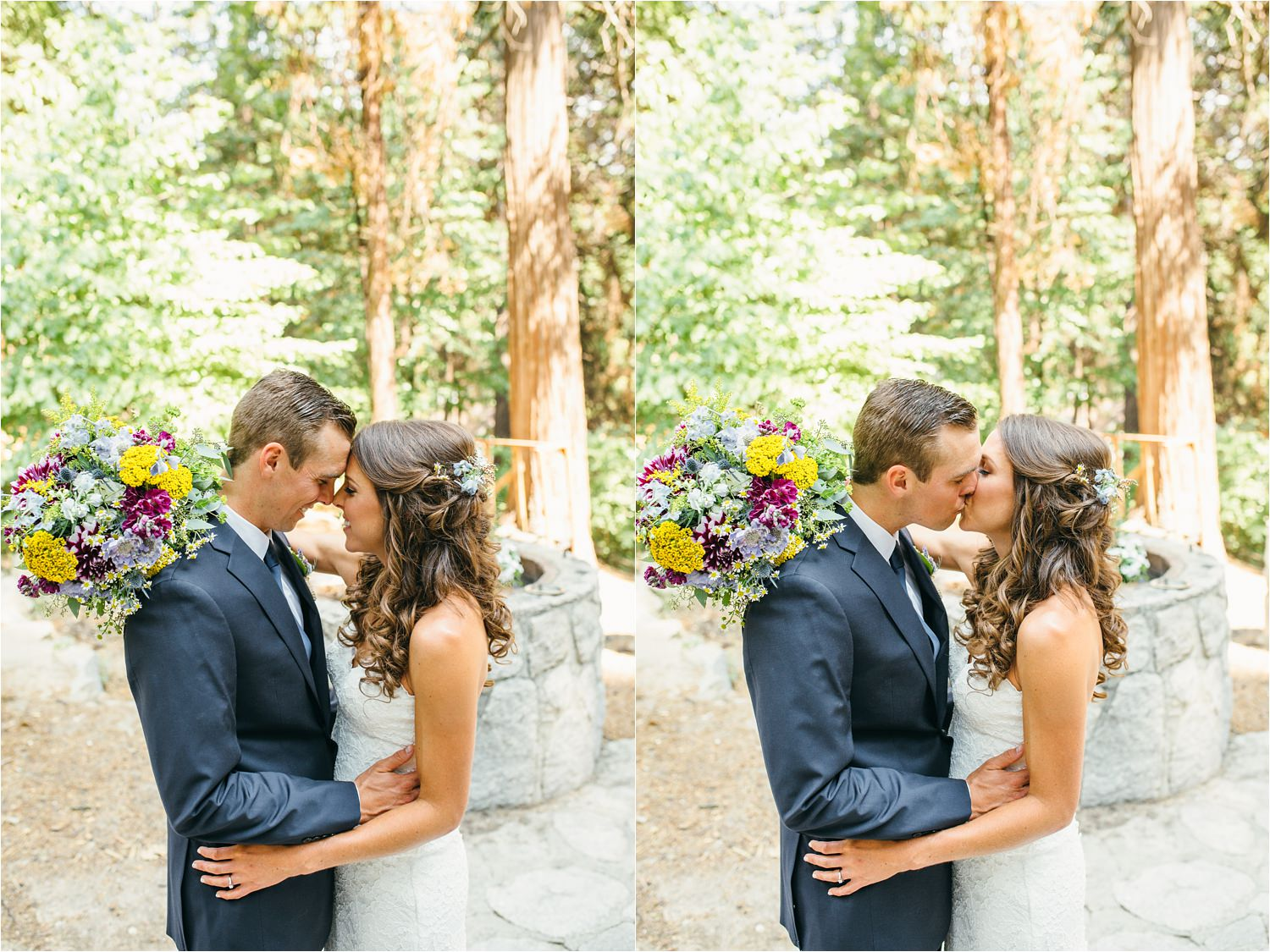 Mountain Wedding in Lake Arrowhead - Summer Camp Themed Wedding in Southern California - https://brittneyhannonphotography.com
