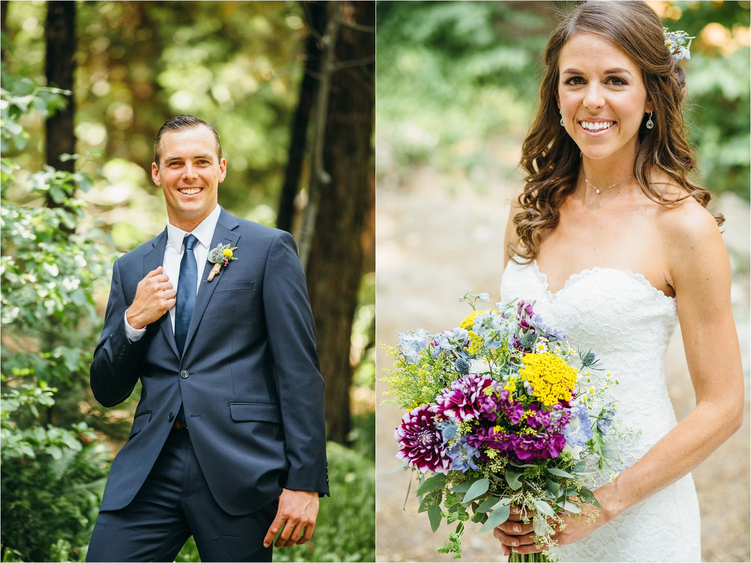 Bride & Groom Photos - Lake Arrowhead Summer Camp Wedding - https://brittneyhannonphotography.com