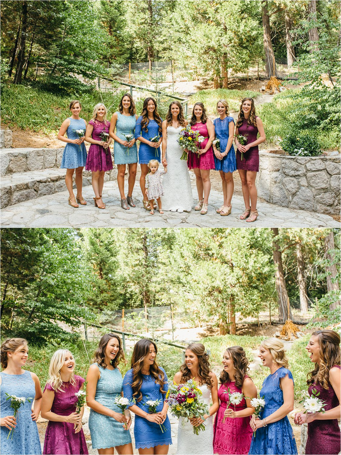 Bride & Bridesmaids - Southern California Wedding Photographer - https://brittneyhannonphotography.com