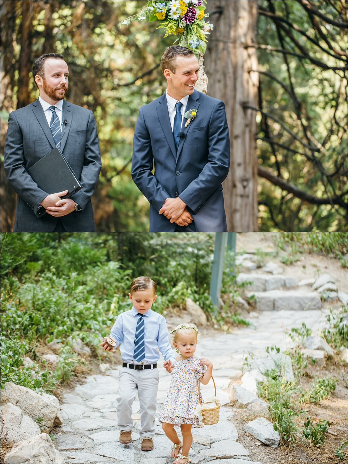 Mountain Wedding Ceremony - Lake Arrowhead Wedding Ceremony - https://brittneyhannonphotography.com