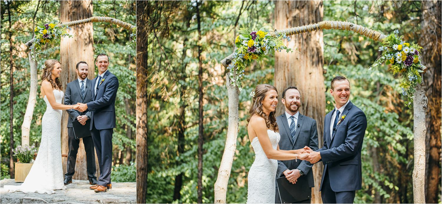 Romantic Mountain Wedding - California Mountain Wedding - Adventurous Bride and Groom - https://brittneyhannonphotography.com