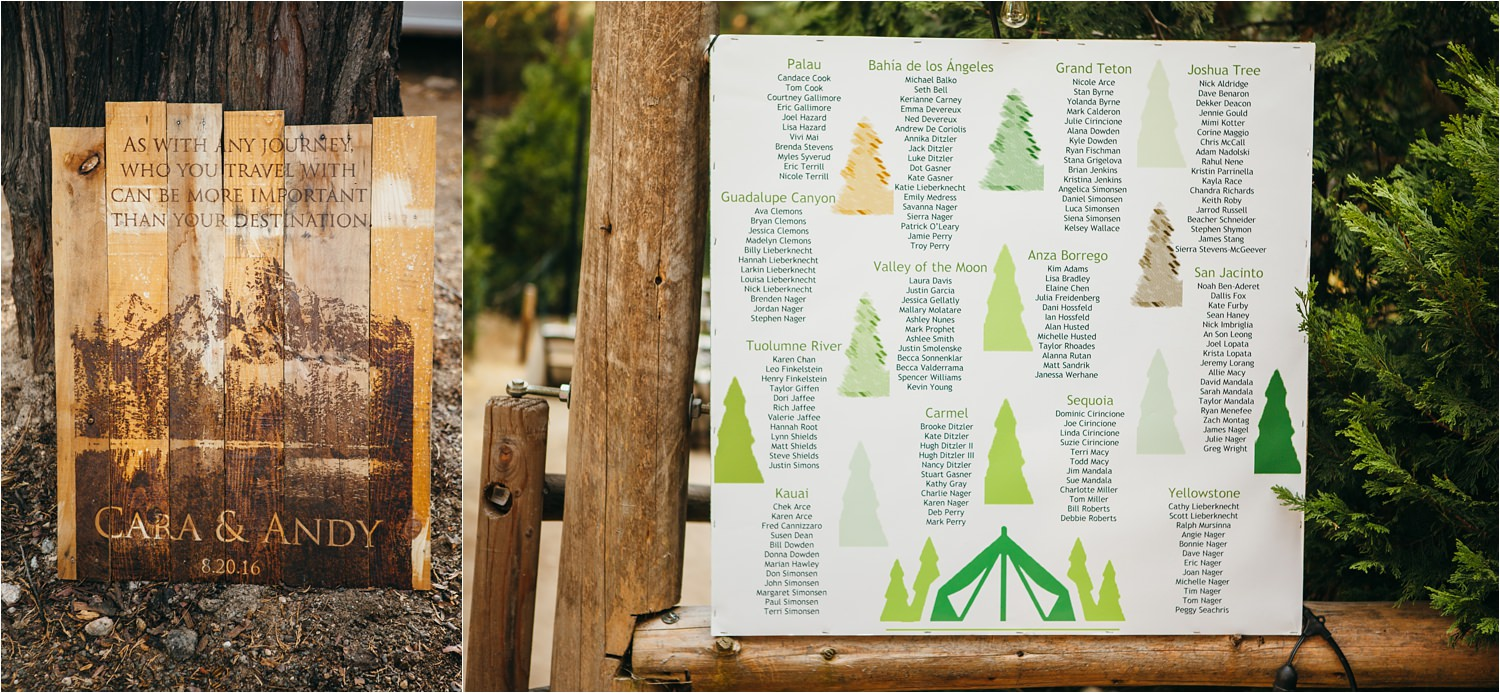 DIY Mountain Wedding Decor - https://brittneyhannonphotography.com