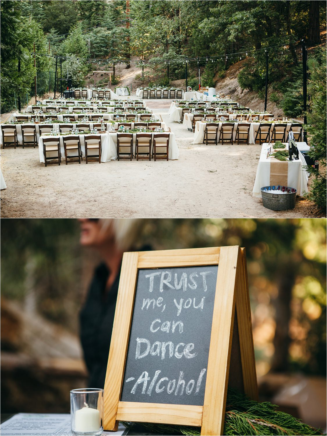 Mountain Wedding Decor - Mountain Wedding Ideas - https://brittneyhannonphotography.com