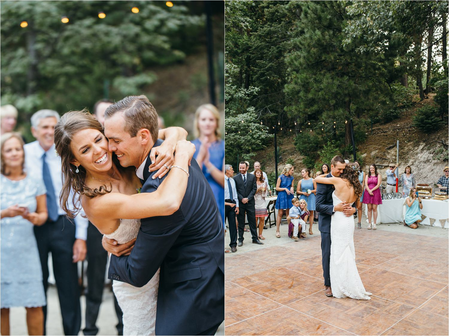 Super Sweet First Dance - First Dance Song - Dan & Shay - Wedding Reception in the Mountains - https://brittneyhannonphotography.com