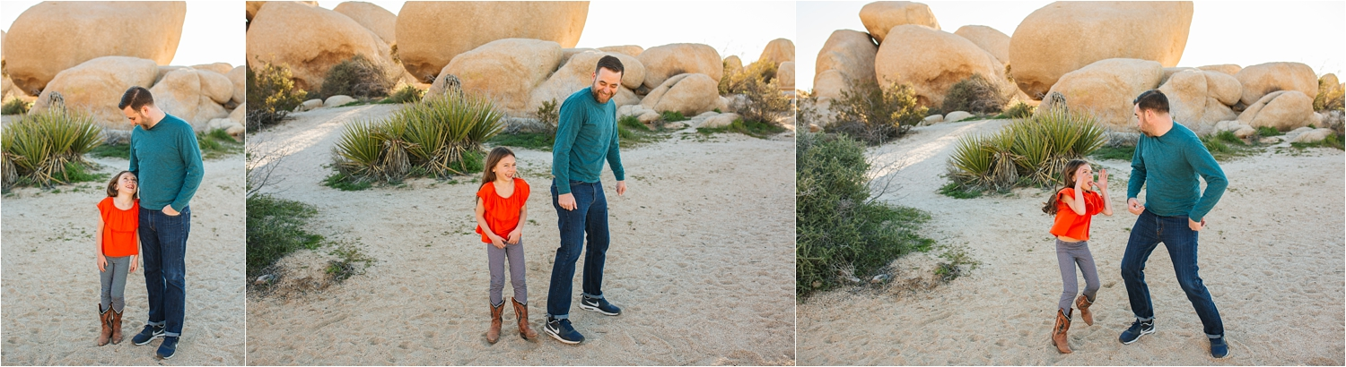 Fun Session in the Desert in Joshua Tree - https://brittneyhannonphotography.com