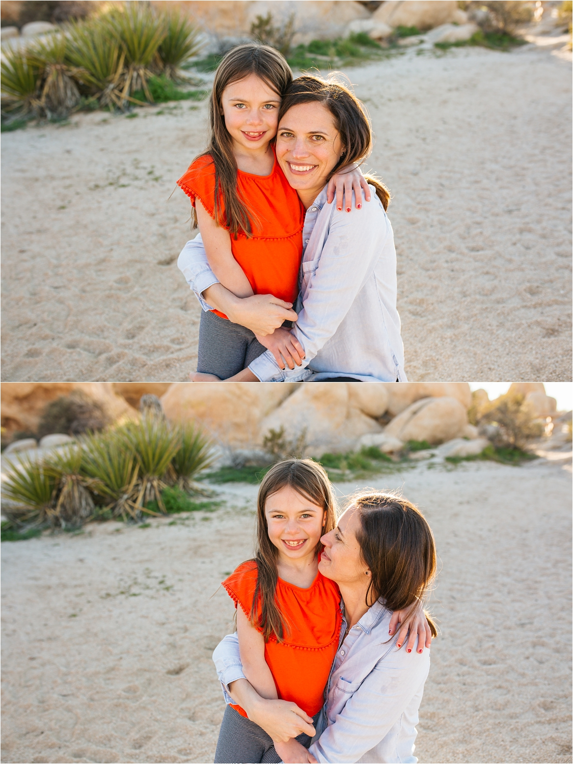 Mother and Daughter Photos in Joshua Tree - https://brittneyhannonphotography.com