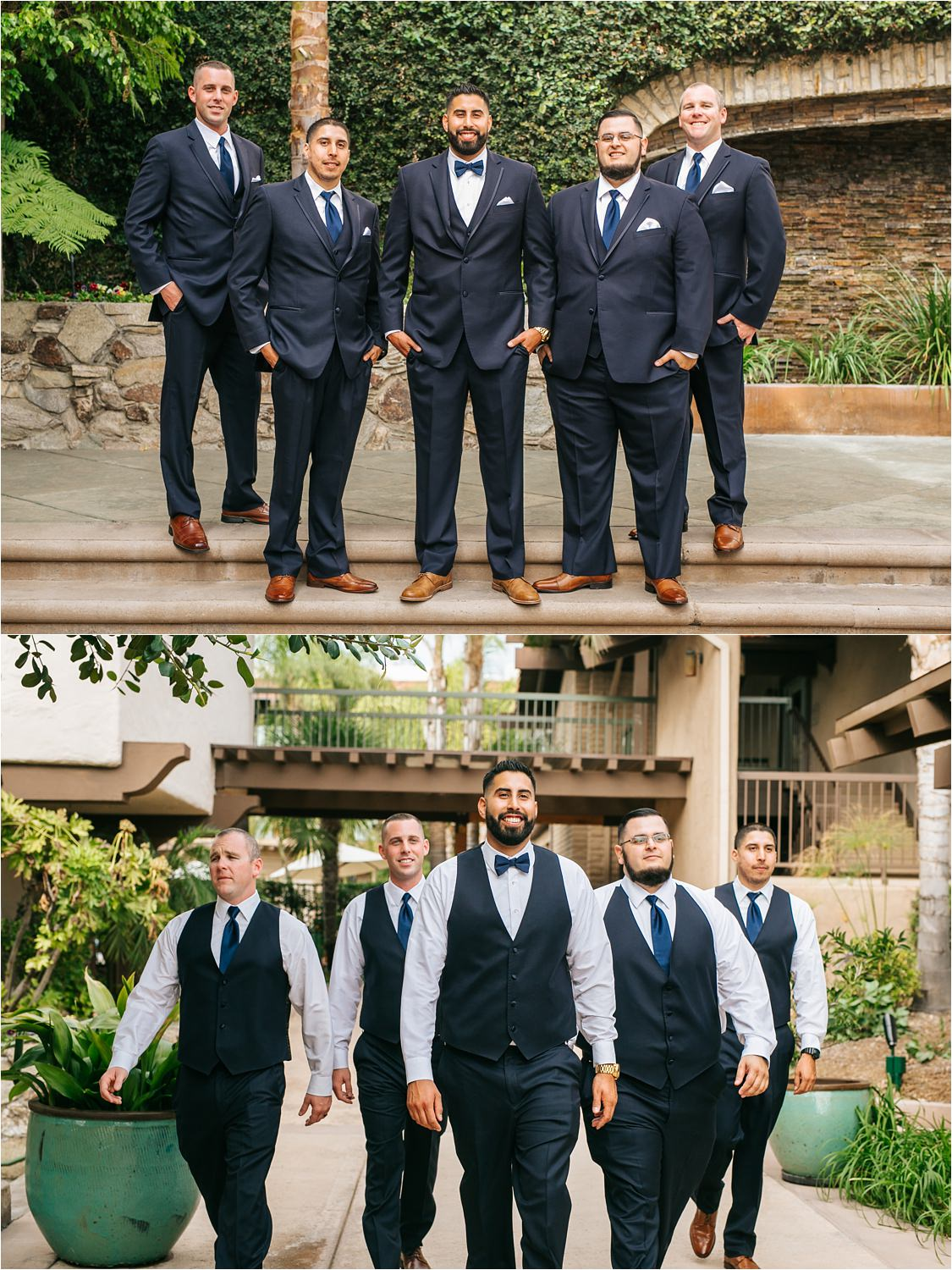 Groom & Groomsmen Photos in Claremont, CA - http://brittneyhannonphotography.com