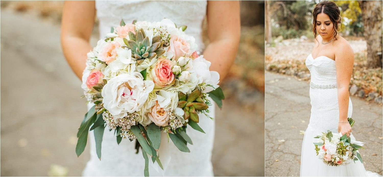 Botanic Garden Wedding - Bridal Bouquet - http://brittneyhannonphotography.com