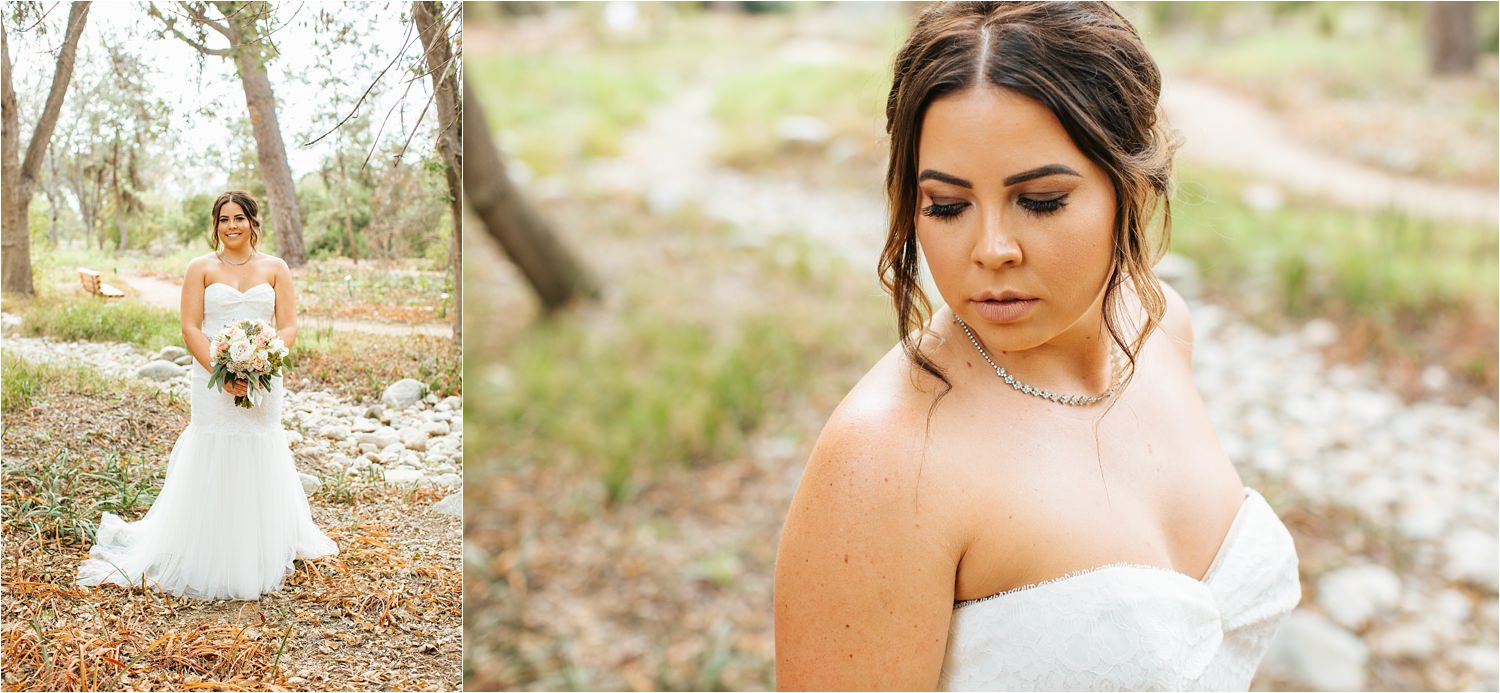 David's Bridal Bride - David's Bridal Wedding Dress - Beautiful Fall Wedding - http://brittneyhannonphotography.com