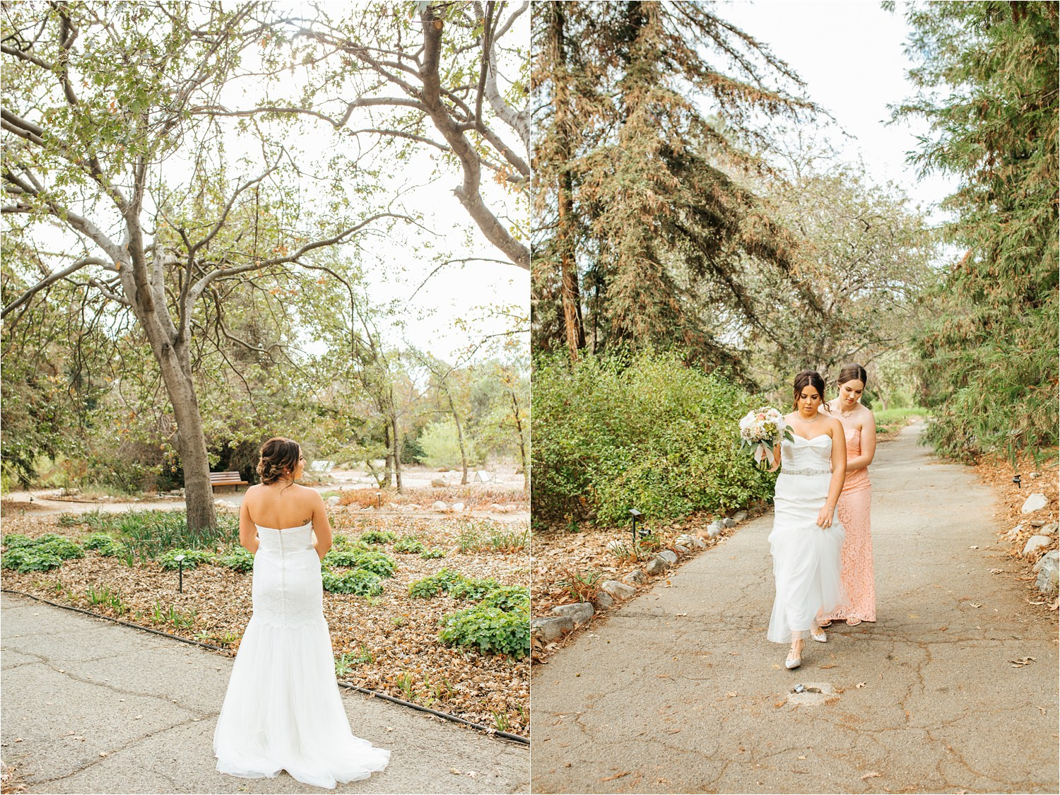 Rancho Santa Ana Botanic Garden Wedding - Claremont, CA Wedding - Wedding Photographer in Southern California - http://brittneyhannonphotography.com