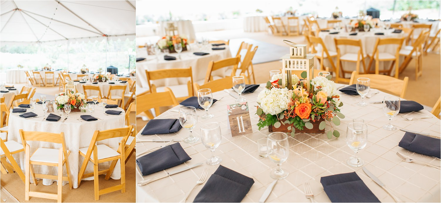Fall Wedding Centerpieces and Table Decor - http://brittneyhannonphotography.com