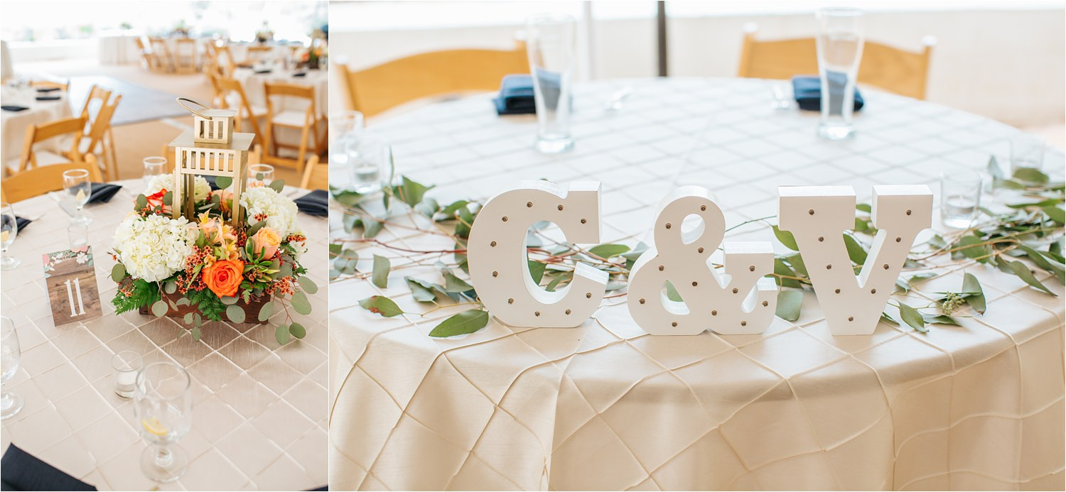Sweetheart Table Decor - http://brittneyhannonphotography.com