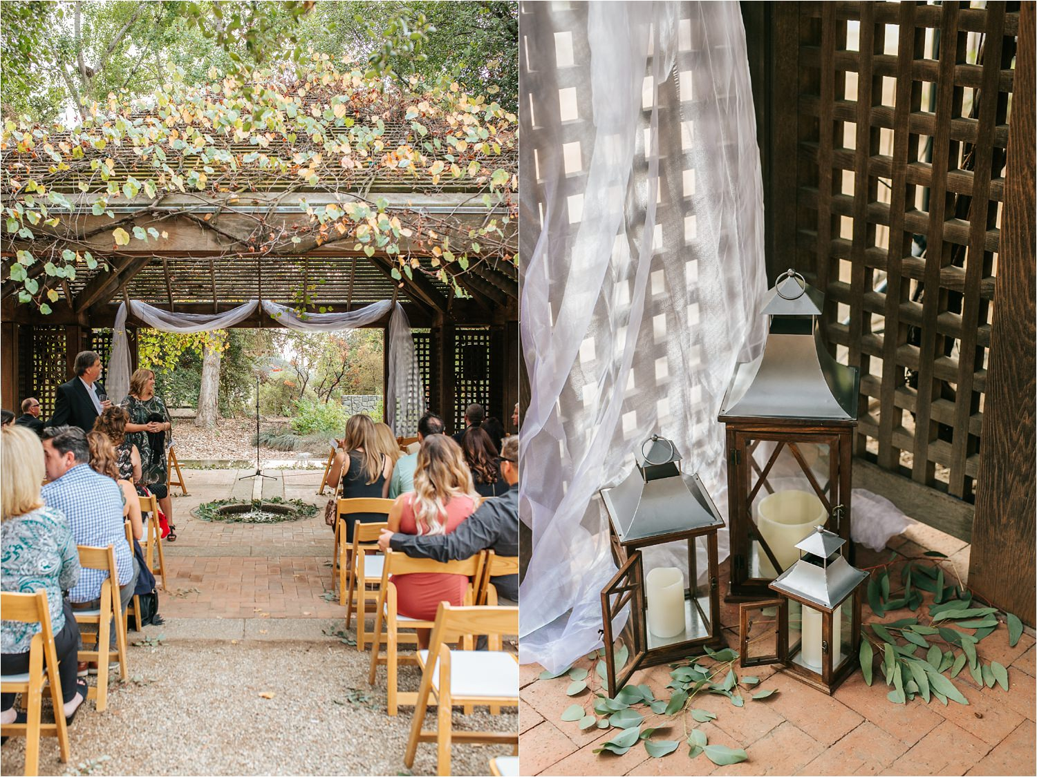 Romantic Wedding Ceremony Decor - http://brittneyhannonphotography.com
