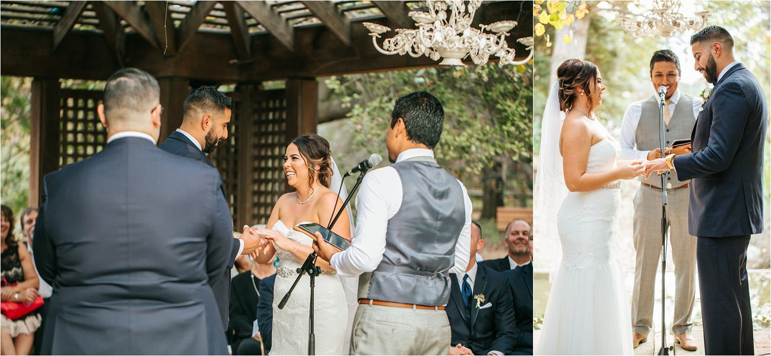 Vows by Bride and Groom - http://brittneyhannonphotography.com