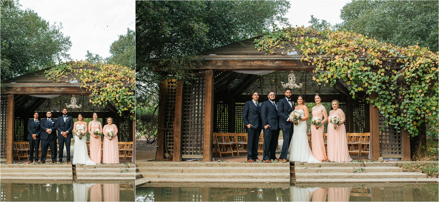Rancho Santa Ana Botanic Garden Wedding Claremont Wedding Photographer Victor Caitlin
