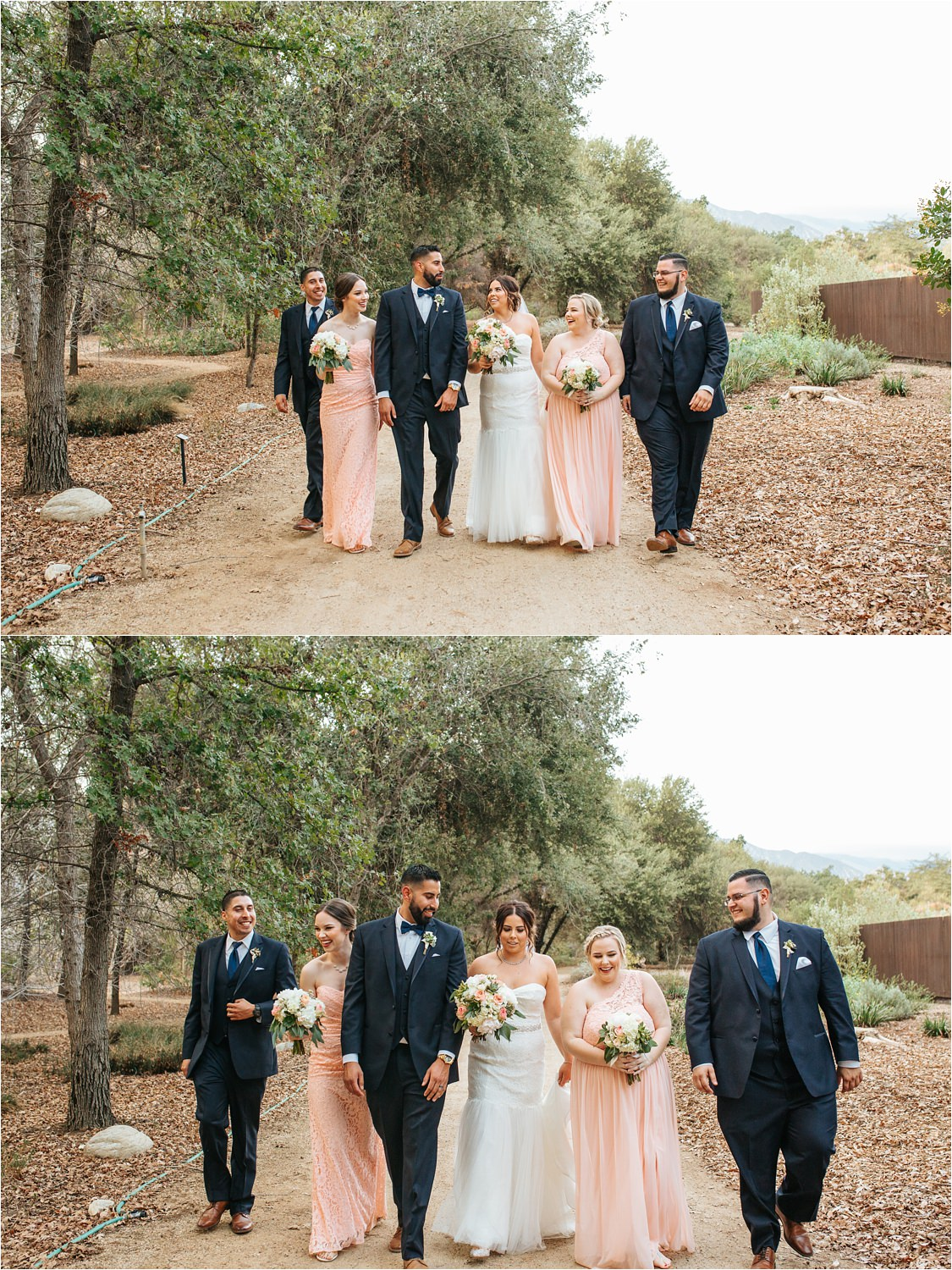 Claremont Wedding Photographer - Bridal Party Photos - http://brittneyhannonphotography.com