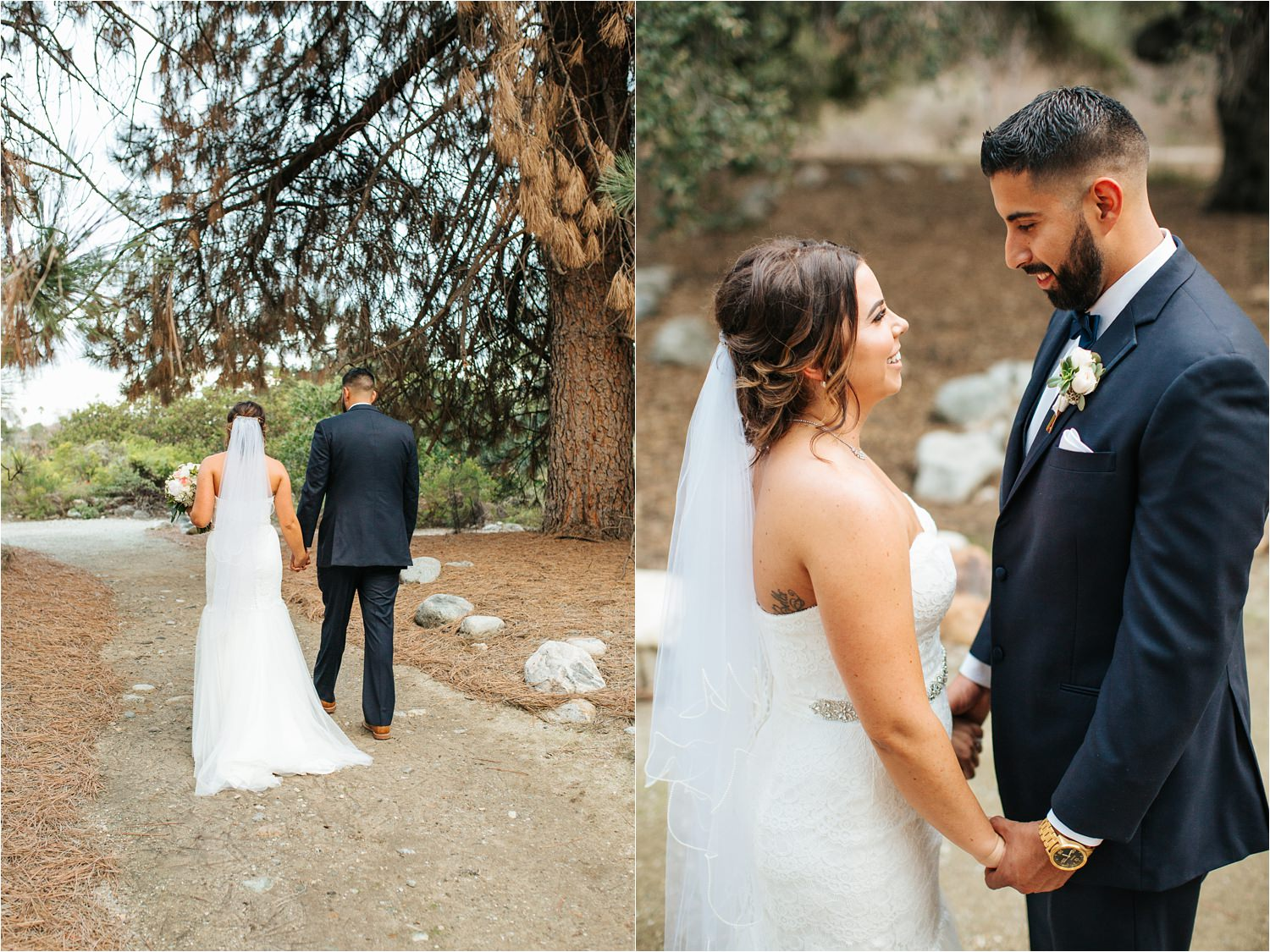 Romantic Fall Wedding in Southern California - http://brittneyhannonphotography.com