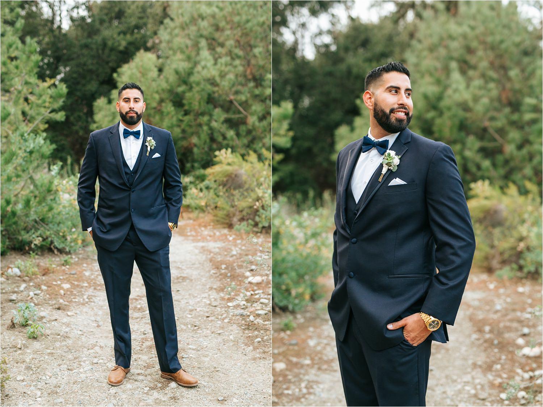 Groom Portraits - Rancho Santa Ana Botanic Gardens Wedding - http://brittneyhannonphotography.com