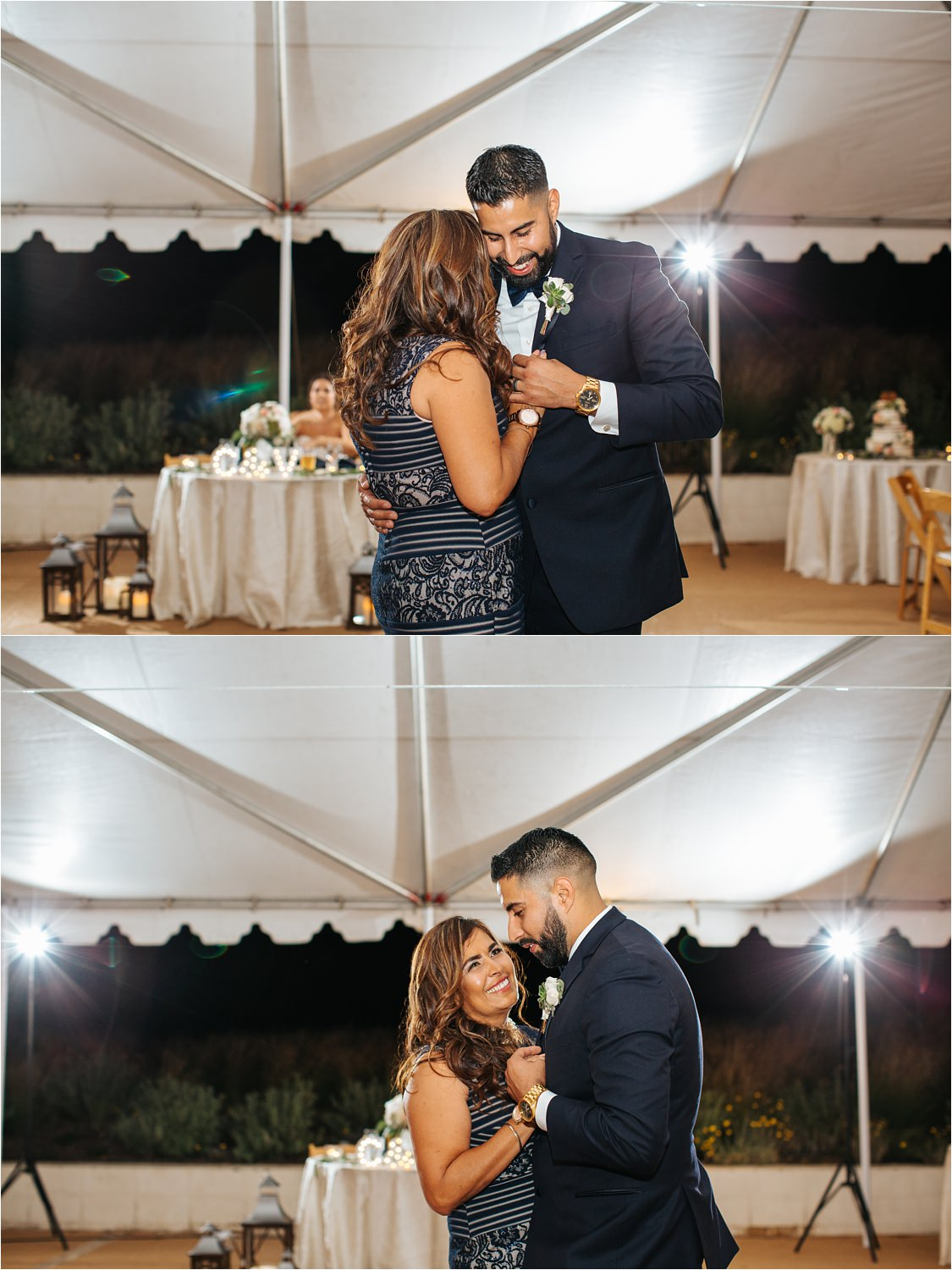 Mother and Son dance during wedding reception - http://brittneyhannonphotography.com