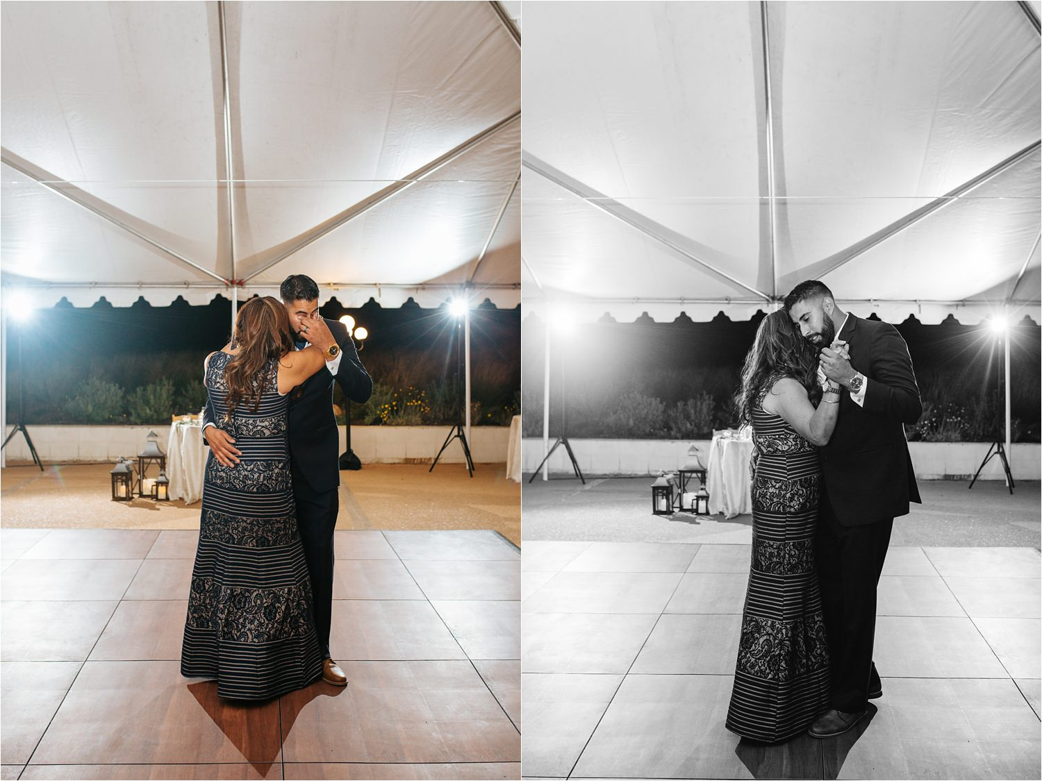 Son dances with his mom at reception - http://brittneyhannonphotography.com