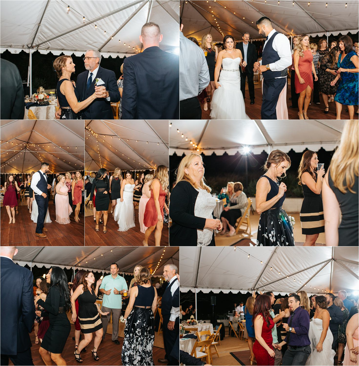 Dancing Photos at Wedding Reception in Southern California - http://brittneyhannonphotography.com