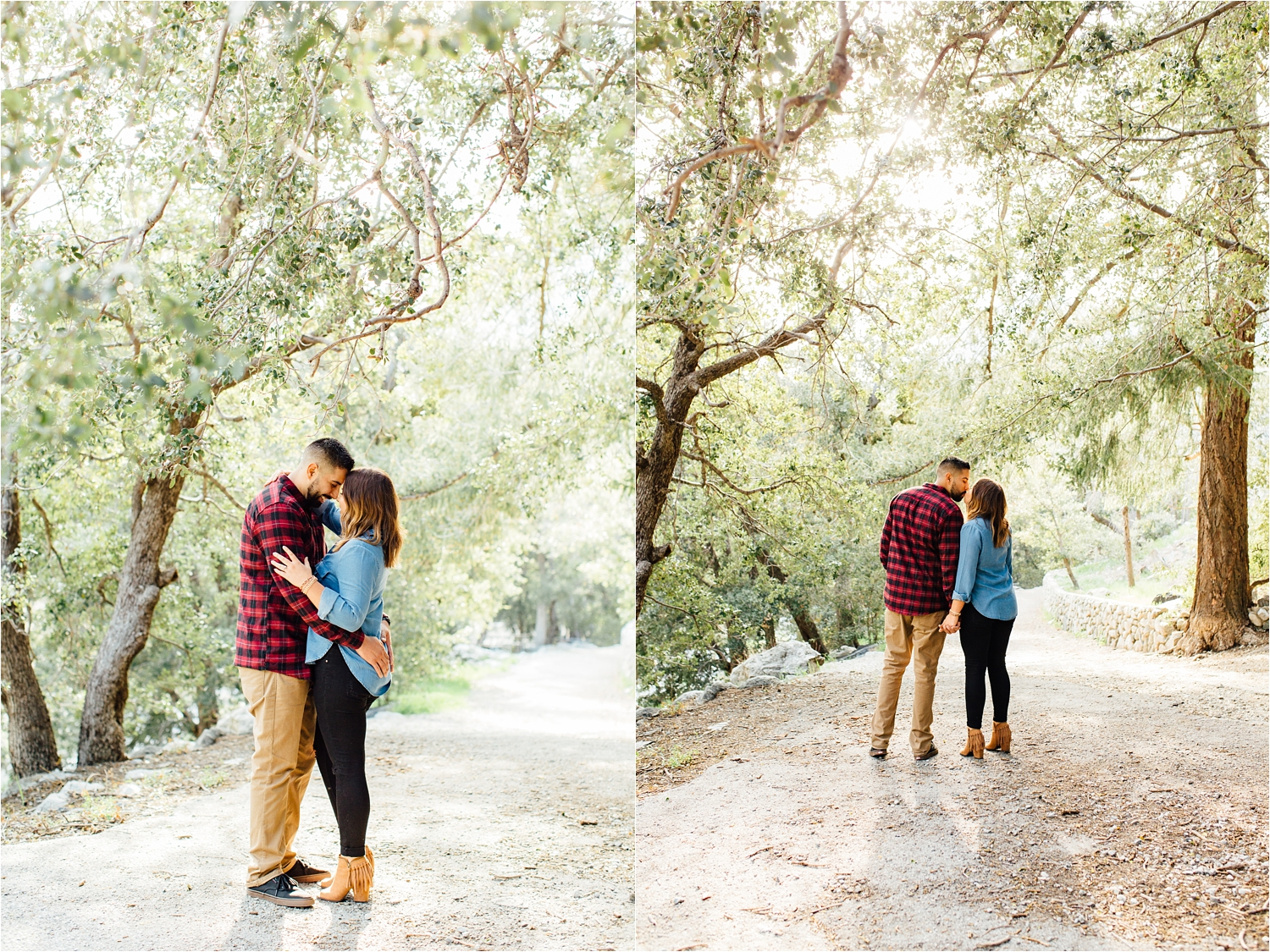 Mountain Engagement Session in Upland, CA - http://brittneyhannonphotography.com