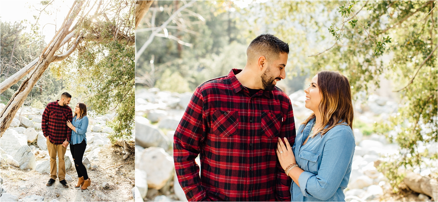 Mountain Engagement Session in Southern California - http://brittneyhannonphotography.com