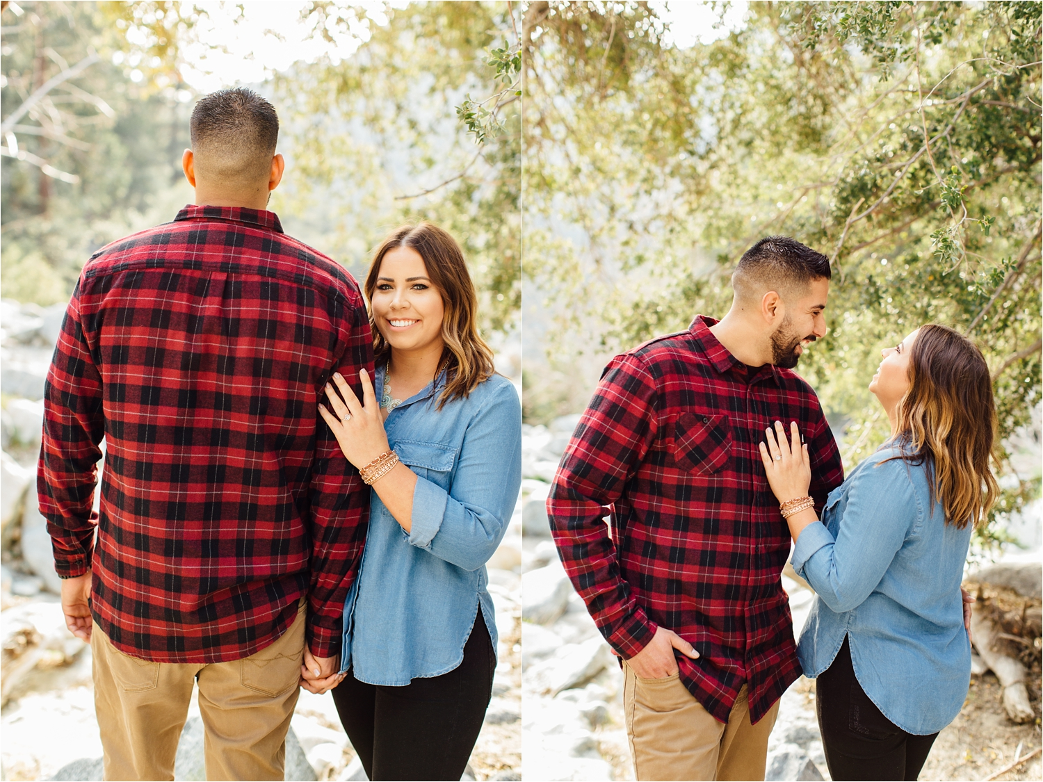 Romantic Mountain Engagement Session - http://brittneyhannonphotography.com