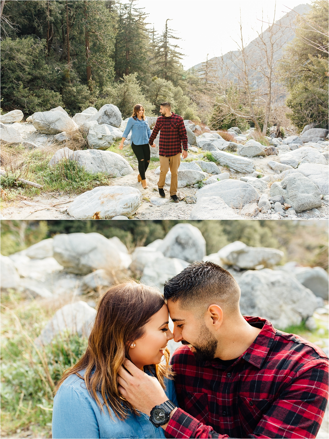 Engagement Session in the Mountains - Mountain Engagement Photographer - http://brittneyhannonphotography.com