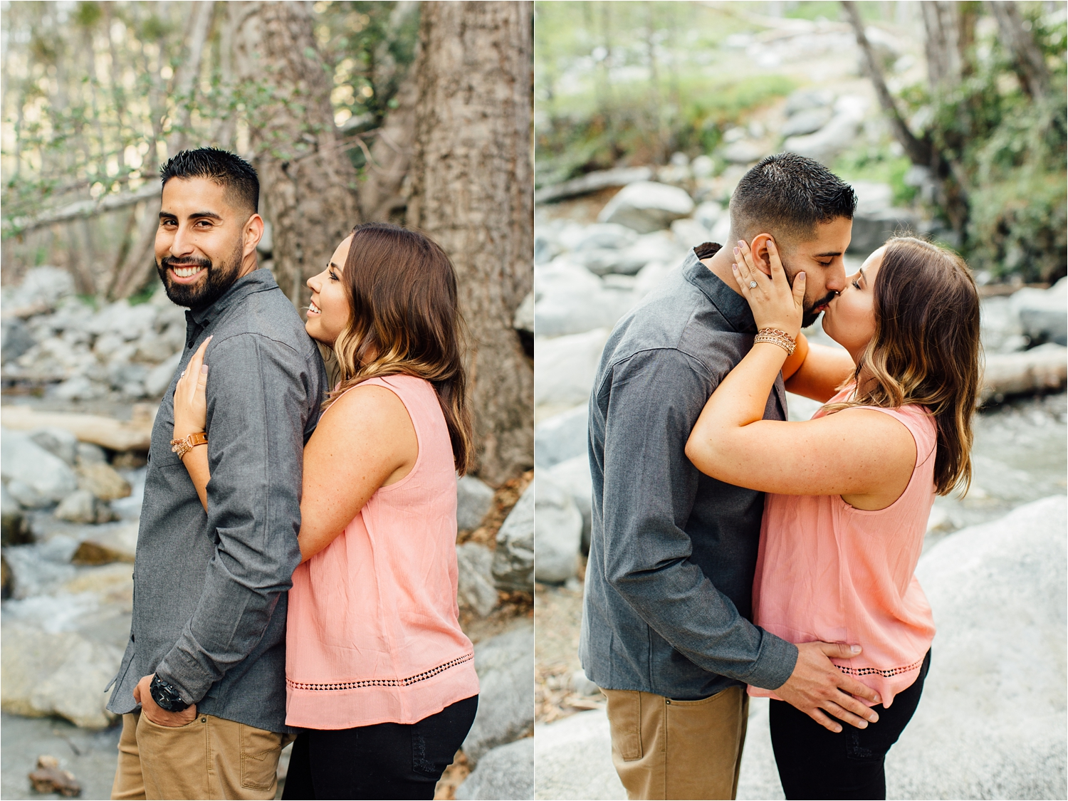 Southern California Engagement Session - Mountain Engagement Photographer - http://brittneyhannonphotography.com