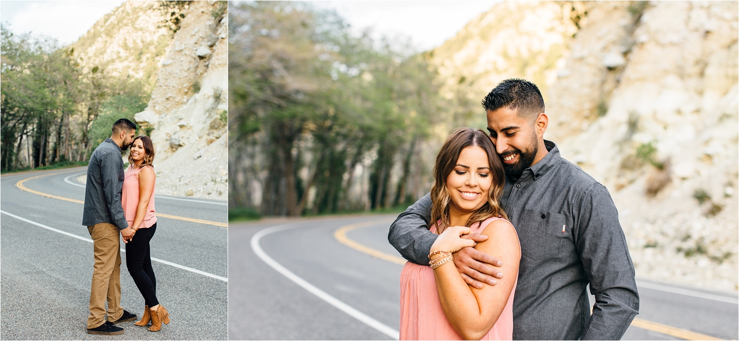 Southern California Engagement Photography - Mountain Engagement Photographer - http://brittneyhannonphotography.com