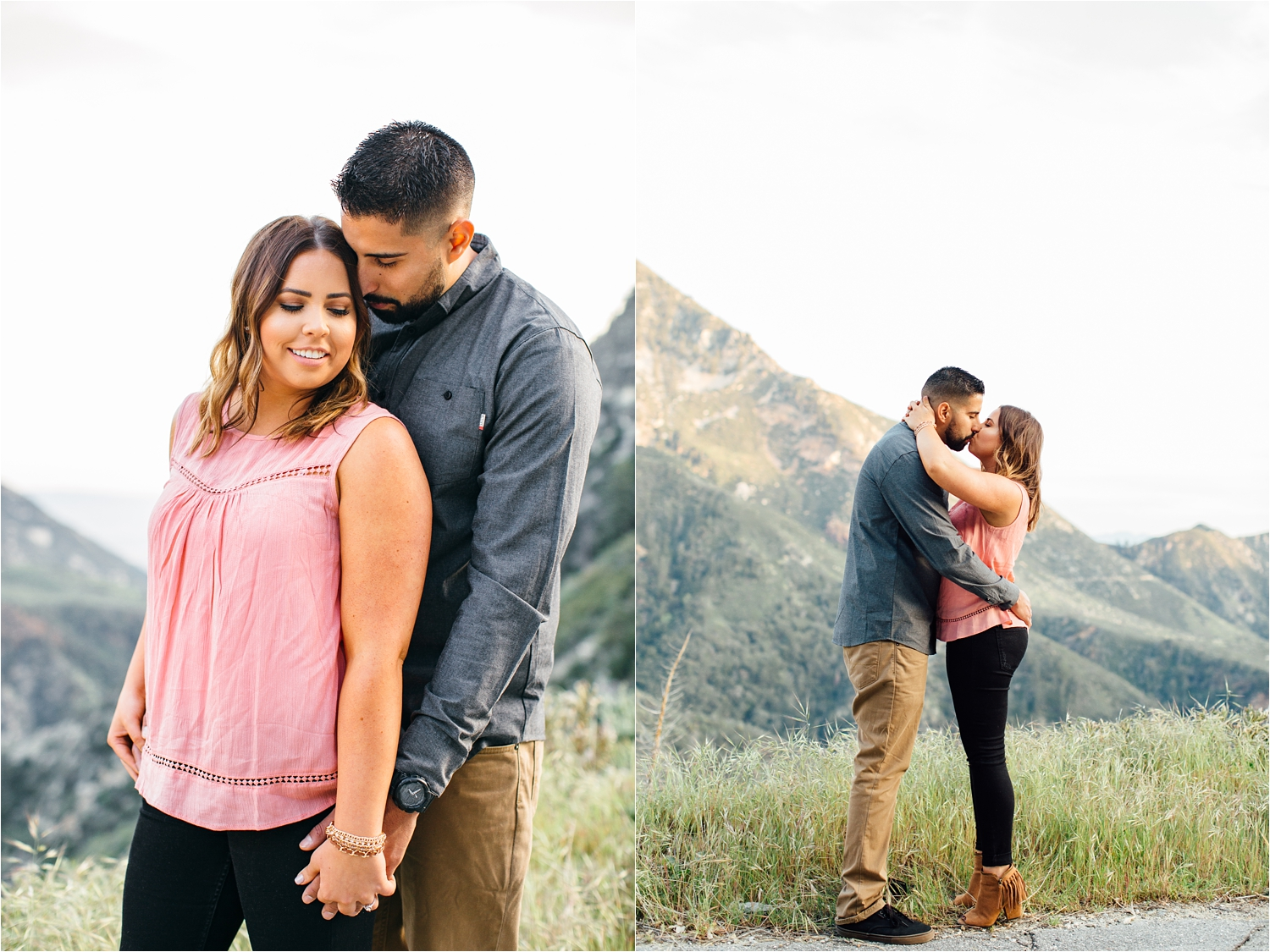 Southern California and Destination Engagement and Wedding Photography - Mountain Engagement Photographer - http://brittneyhannonphotography.com