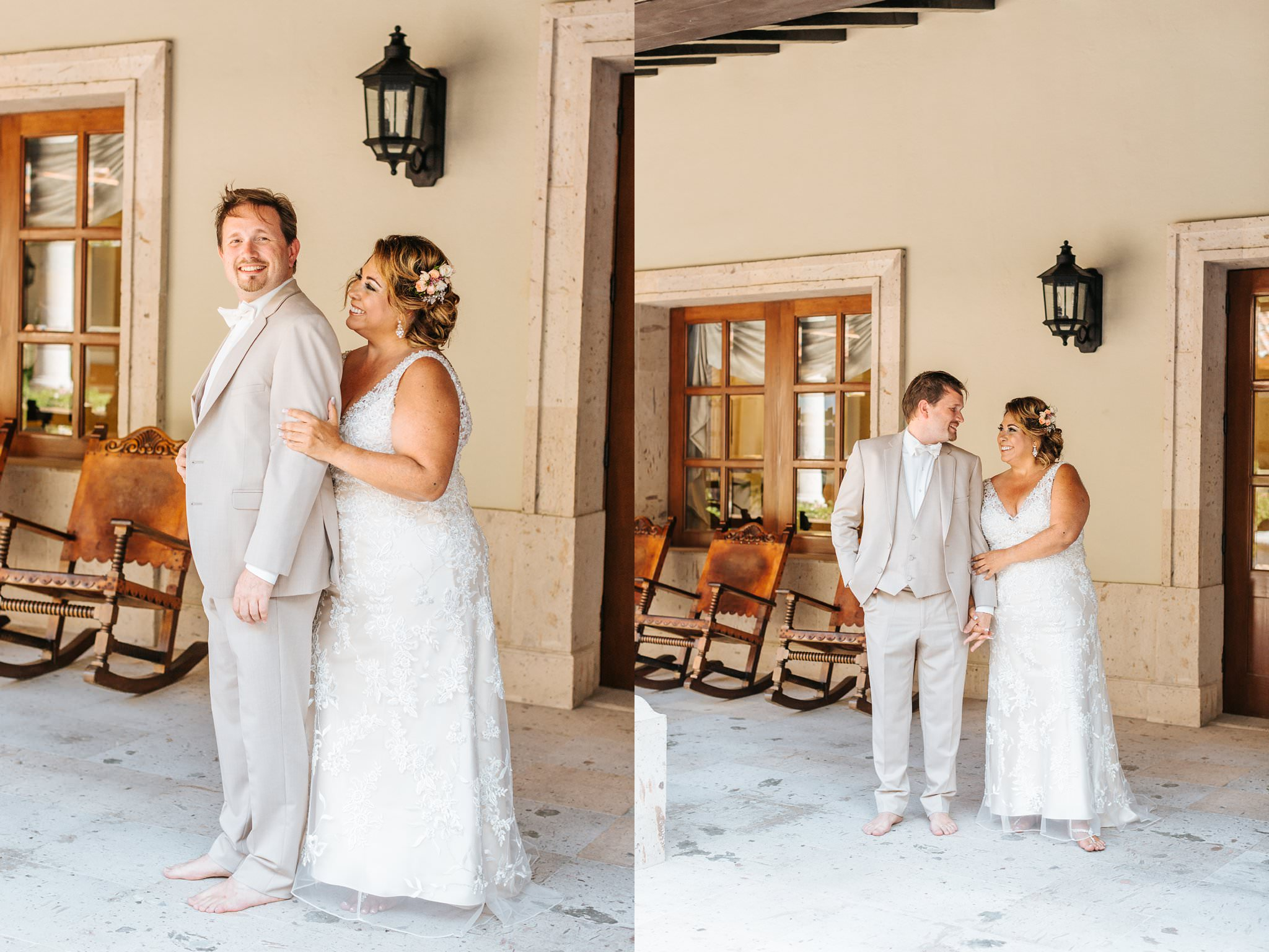 Sweet Bride and Groom Photos at Cabo Beach Resort in Mexico - https://brittneyhannonphotography.com