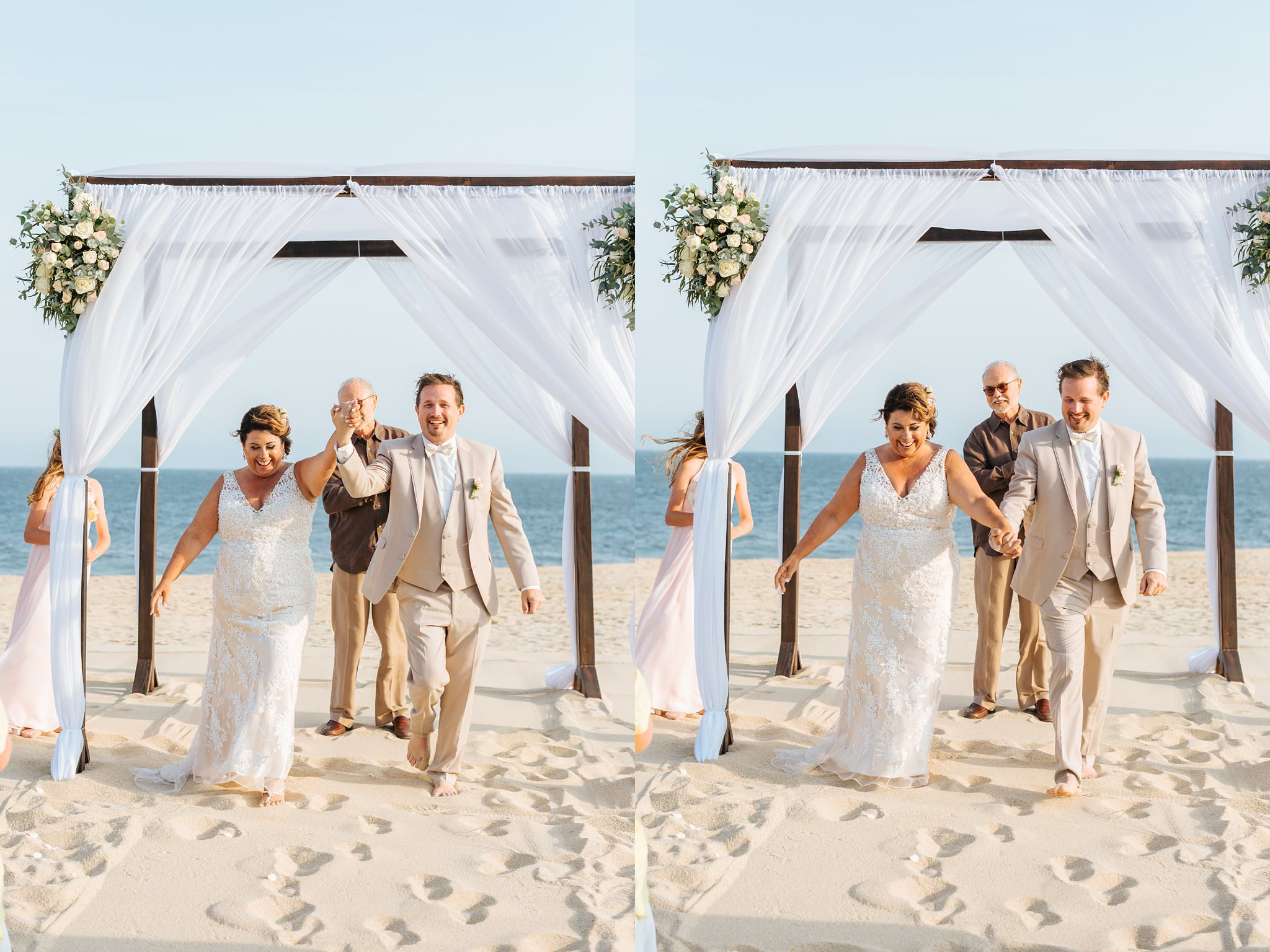 Beach Wedding in Cabo San Lucas, Mexico - https://brittneyhannonphotography.com