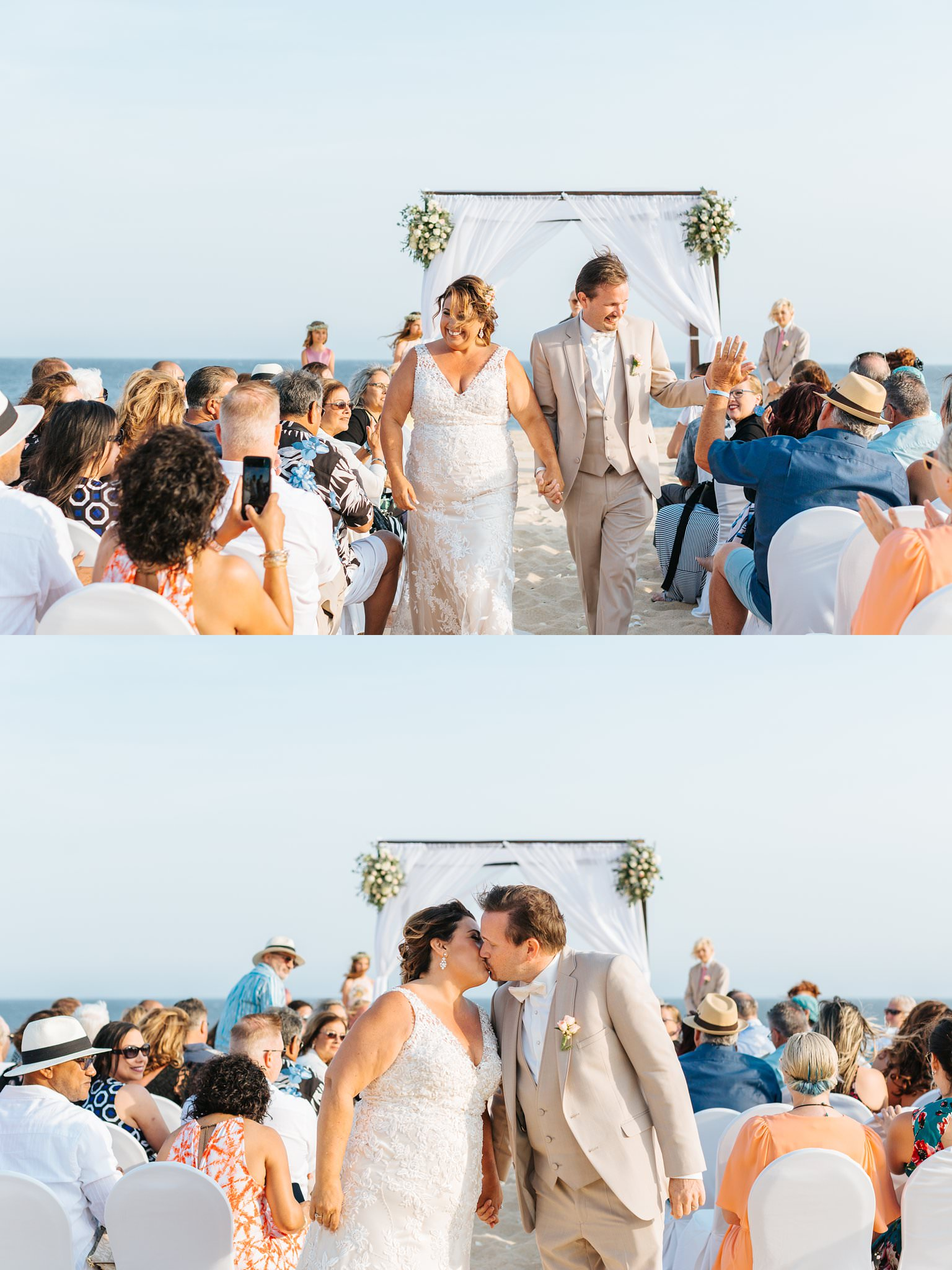 Cabo Resort Beach Wedding - Destination Wedding Photographer - https://brittneyhannonphotography.com