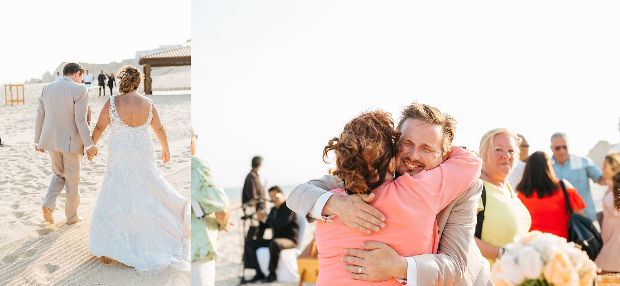 Cabo San Lucas Beach Wedding in Mexico - https://brittneyhannonphotography.com