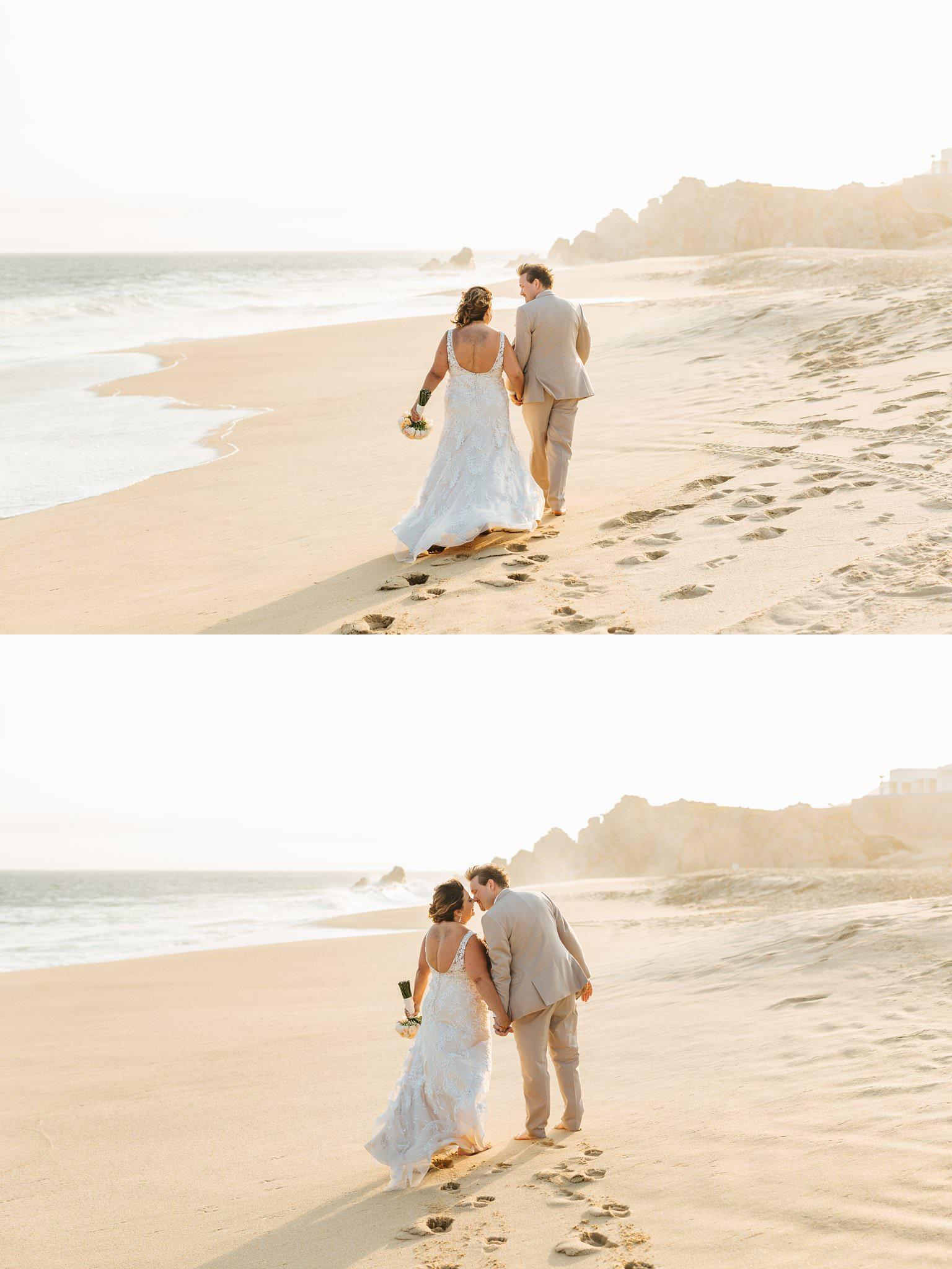 Destination beach wedding in Cabo San Lucas - http:///brittneyhannonphotography.com