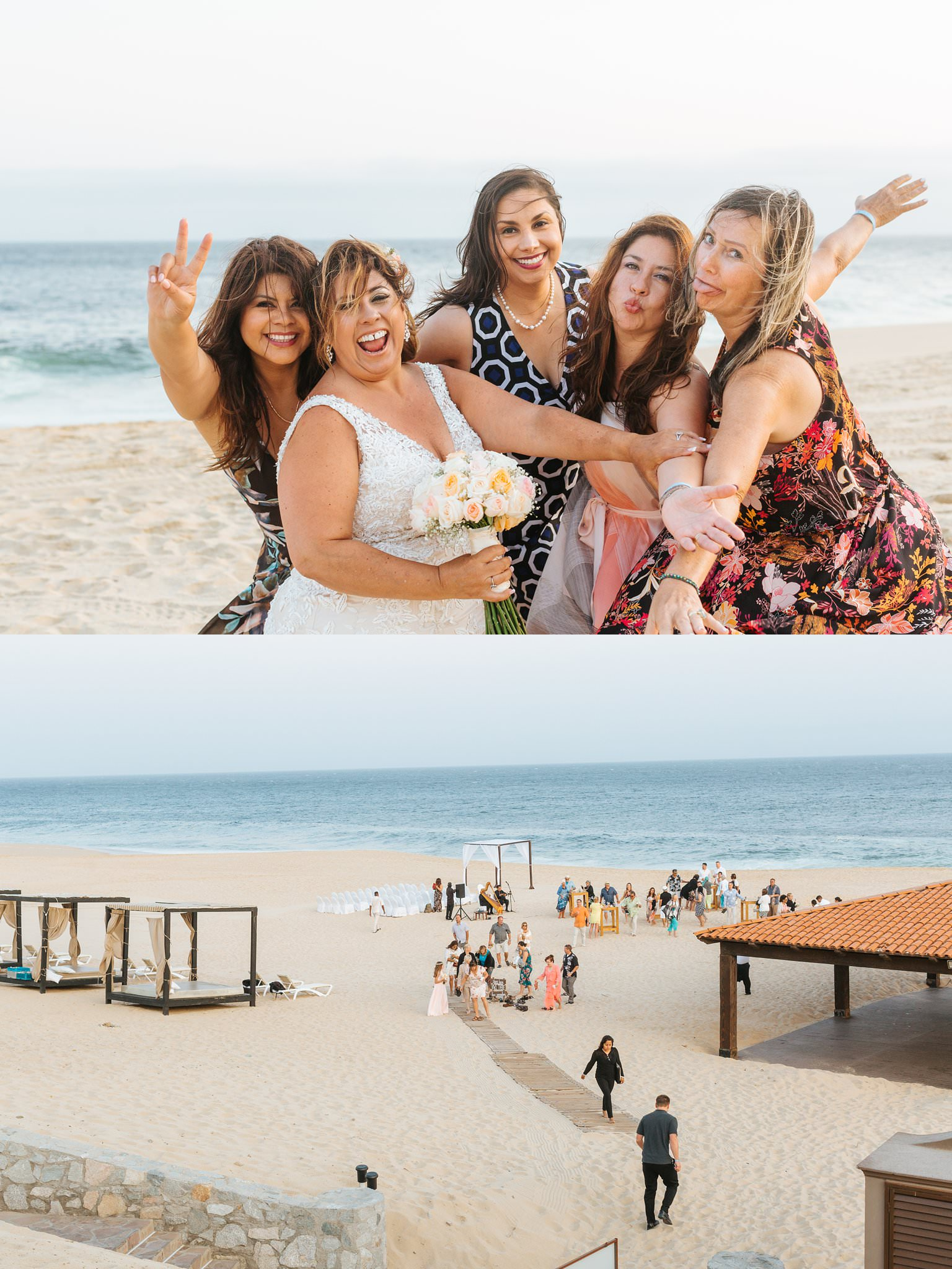 Cabo San Lucas Destination Wedding on the beach - https://brittneyhannonphotography.com