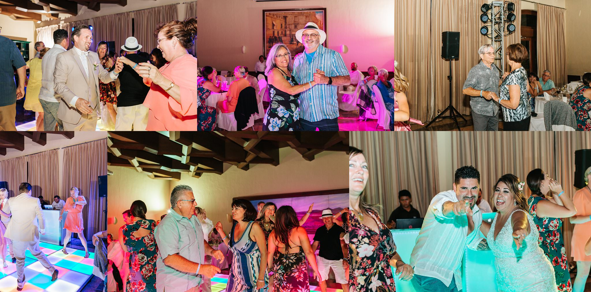 Fun Wedding Reception in Cabo - Destination Wedding in Mexico - https://brittneyhannonphotography.com