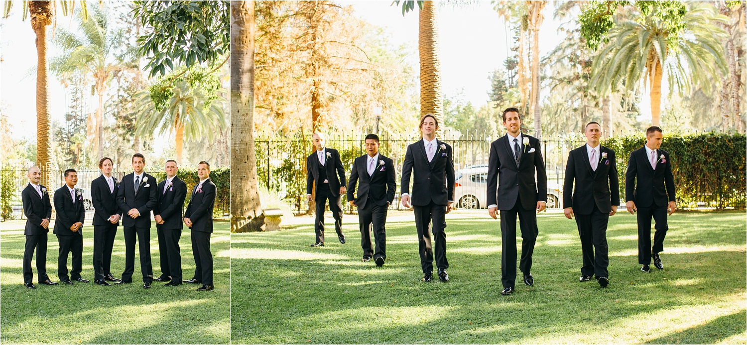 groom portraits at castle green in pasadena