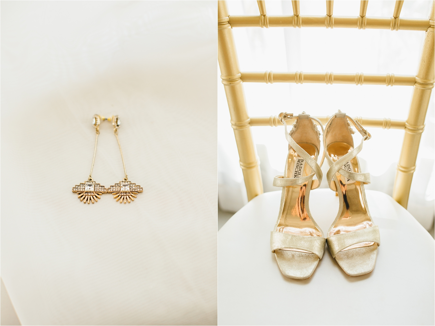 beautiful bridal shoes and wedding jewelry