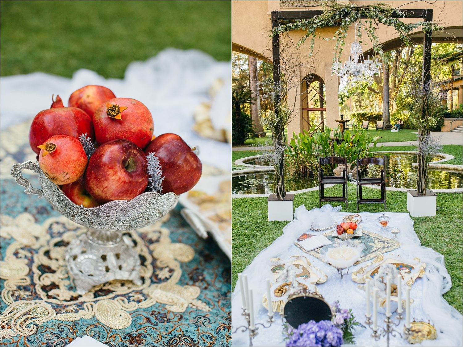 ceremony details in southern california