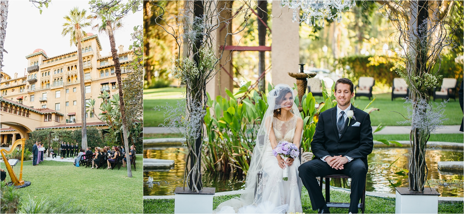 wedding ceremony in southern california