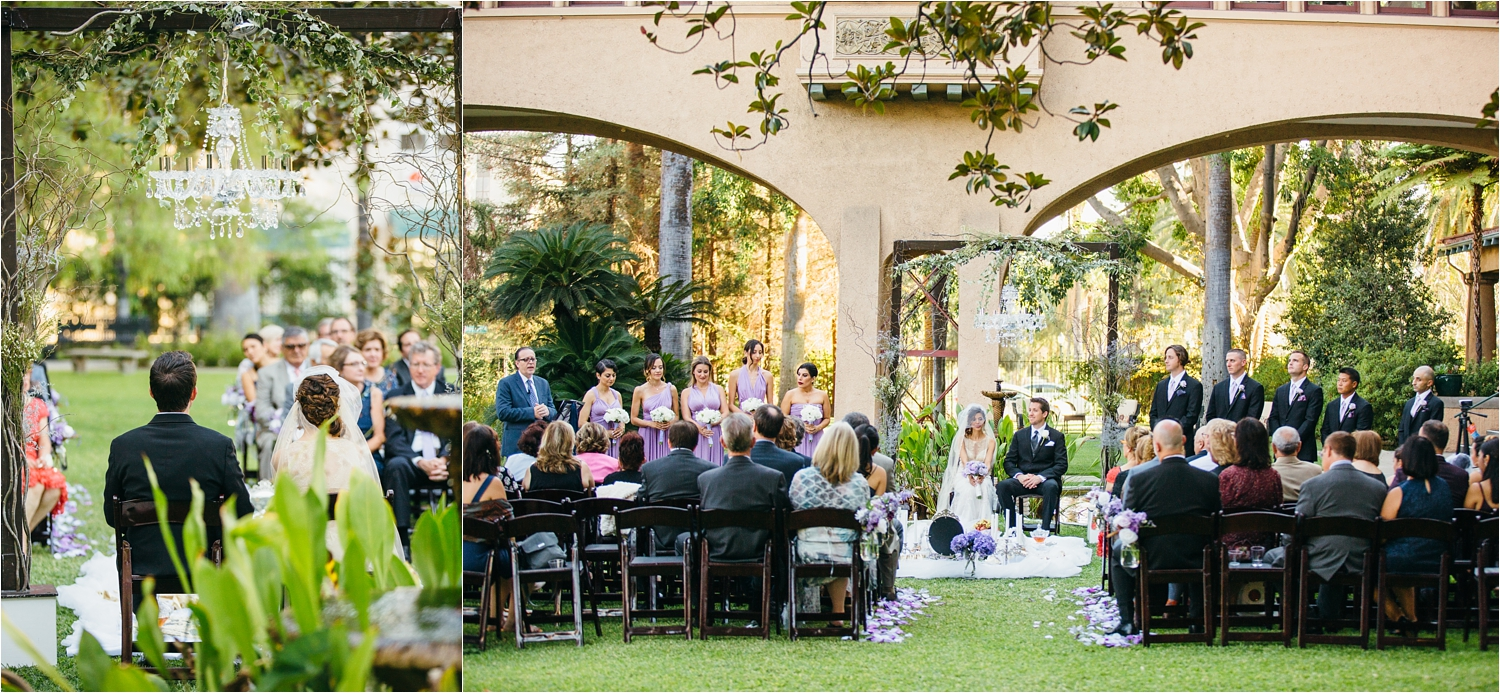 castle green wedding in pasadena ca