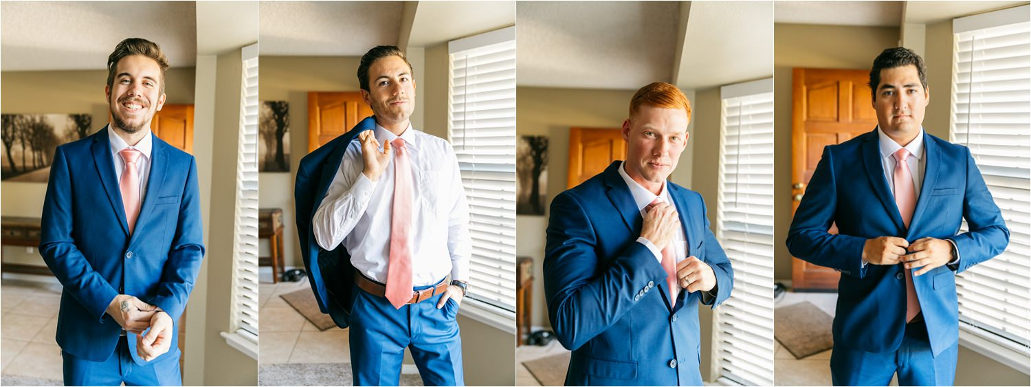 Handsome Groomsmen - https://brittneyhannonphotography.com