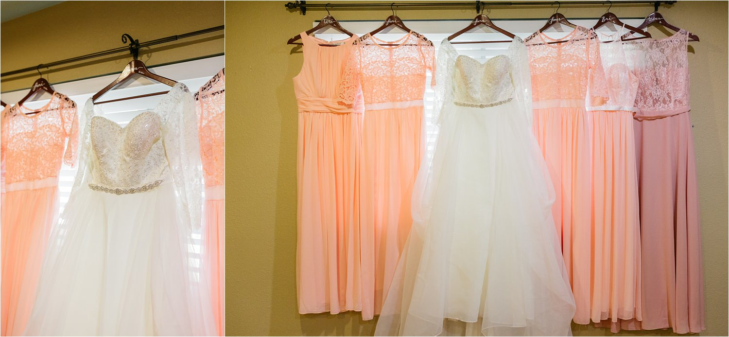 Bride and Bridesmaids dresses - https://brittneyhannonphotography.com