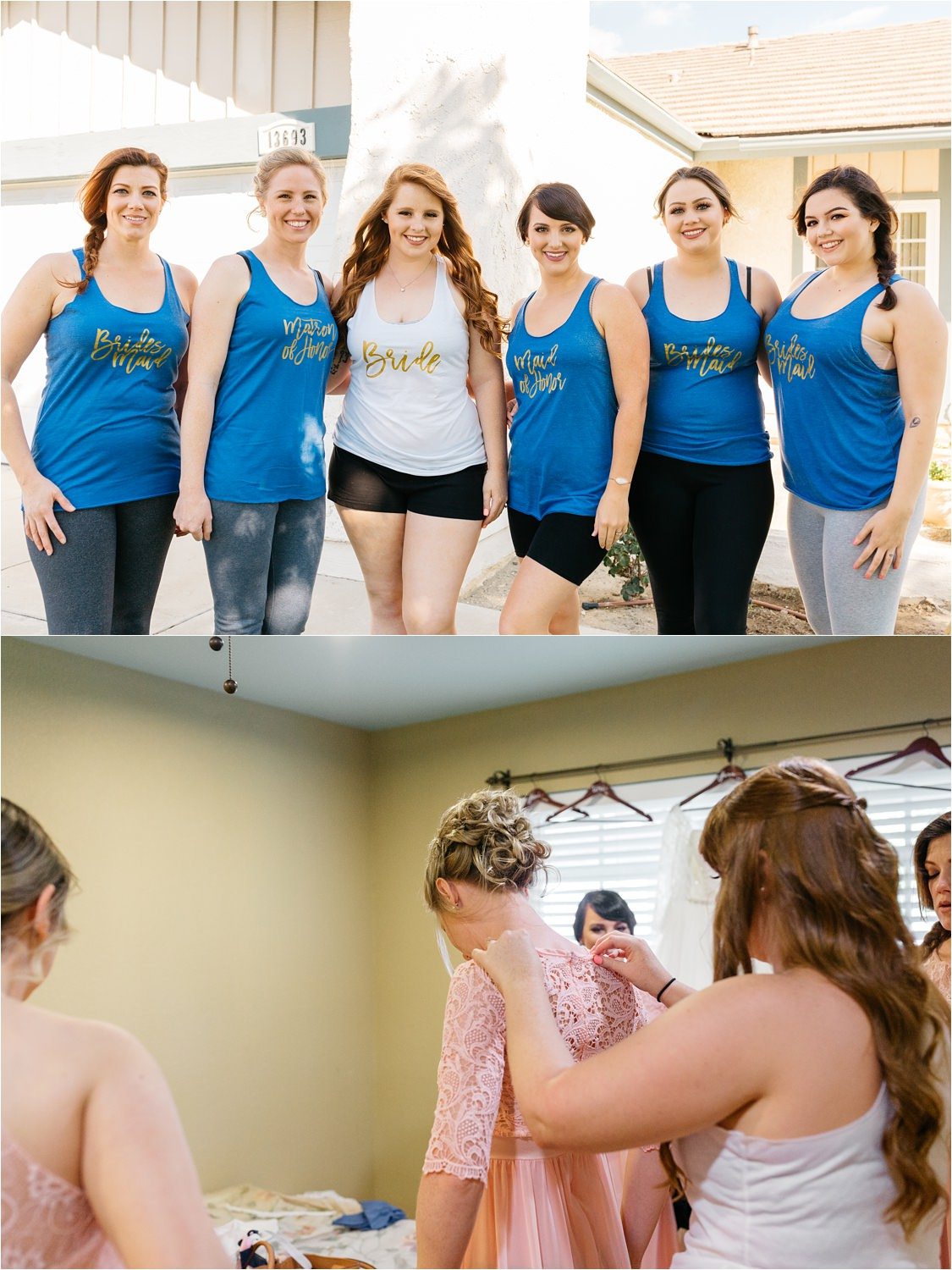 Bridesmaids Shirts - https://brittneyhannonphotography.com