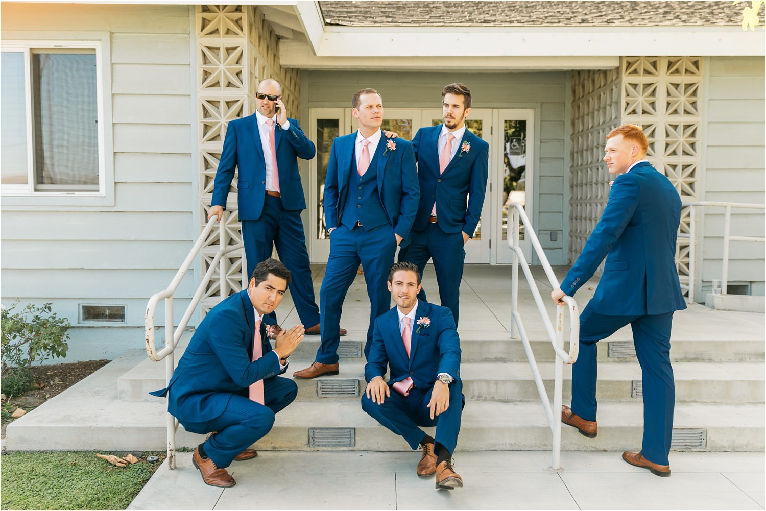 GQ Groomsmen Pose - https://brittneyhannonphotography.com