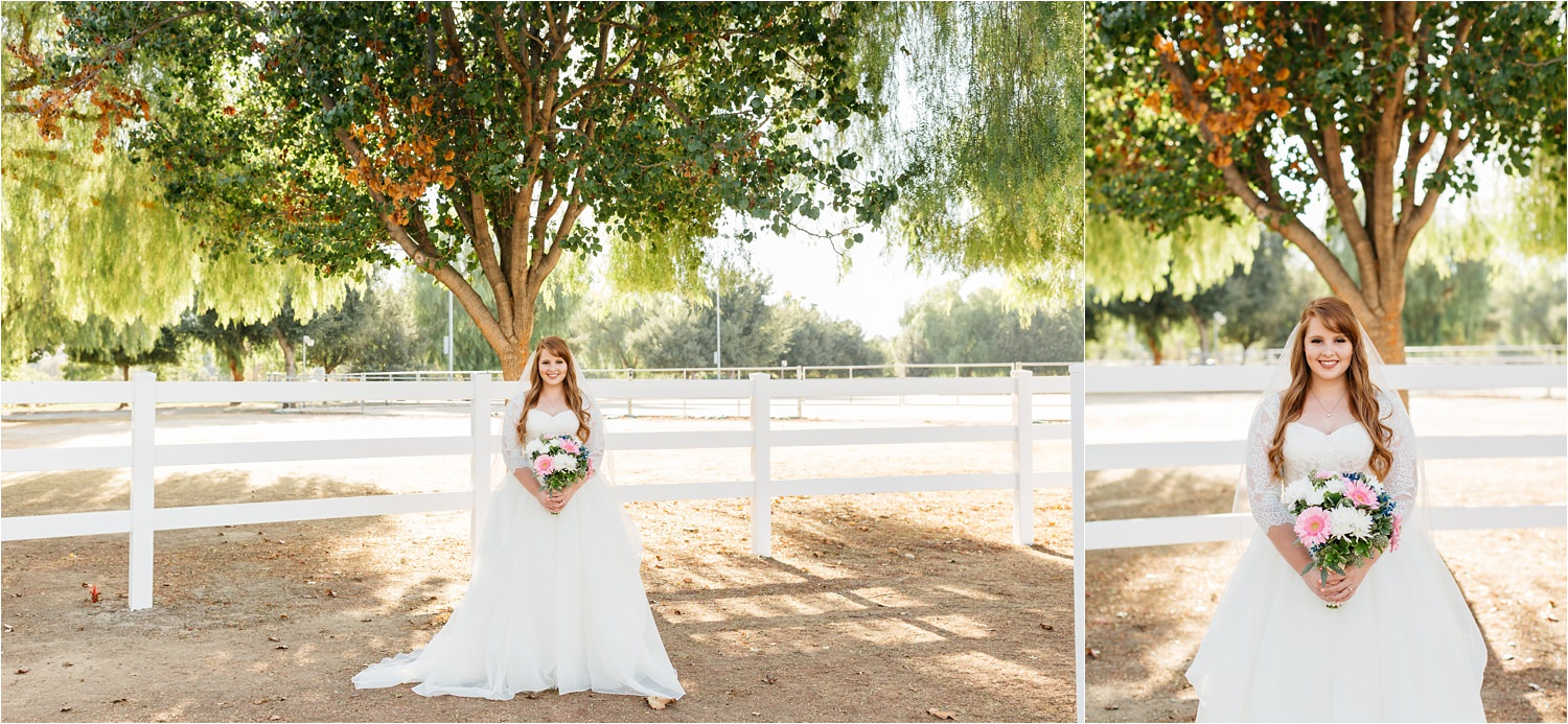 McCoy Equestrian Center Bride - Chino Hills Wedding - https://brittneyhannonphotography.com