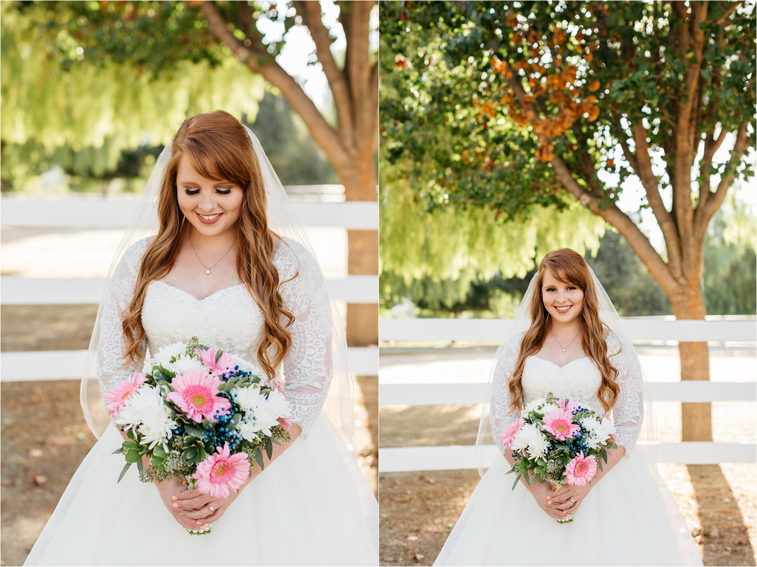 Bridal Portraits in Chino Hills at McCoy Equestrian Center - https://brittneyhannonphotography.com